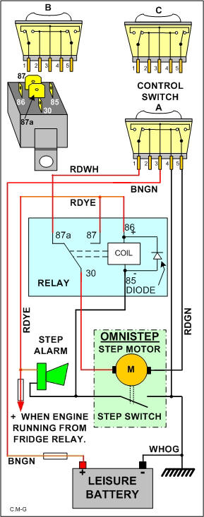 motorhome electric step wiring diagram   38 wiring diagram